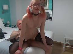 Horny Angel and dirtty Grand - age is no excuse 4 sex tube porn video