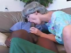 Busty Mature Whore Works A Black Prick tube porn video