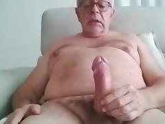 Grandpa cum on cam 7 tube porn video
