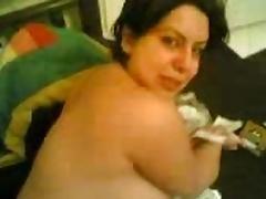 An Iraqian bbw milf fucked by her neighbour tube porn video