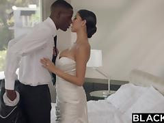 interracial couple celebrating their wedding tube porn video