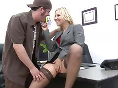 Joey Gets A Crack At Boss Ashley Fires' Crack tube porn video