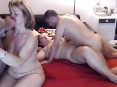 Webcam french Girl  couple and mature couple - 2016-10-13 tube porn video
