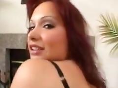 Katja Kassin interracial gang bang tube porn video
