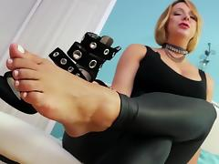 Worship My Spandex Covered Ass and Barefeet tube porn video
