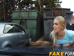 Cute blonde Xena with big sexy ass railed deep by cop tube porn video