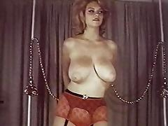 VINTAGE BEAUTY COMPILATION - 50's & 60's buxom teasers tube porn video