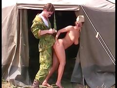 Grossi Calibri al Campo Militare (1996) Angelica Bella tube porn video