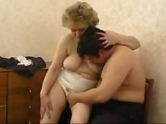 Russian Granny And Boy..the Making Of tube porn video