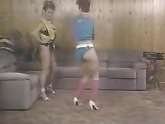 Aerobics tube porn video