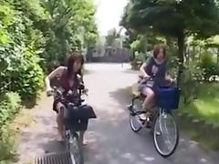 fucking on the bike tube porn video
