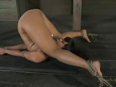Beautiful Annie Cruz is an exotic babe who needs to be punished! tube porn video