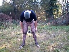Mini Dress Outdoors tube porn video