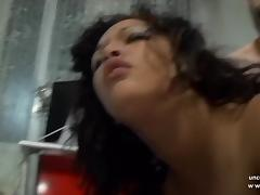 Chubby n busty french arab slut ass pounded and creamed tube porn video