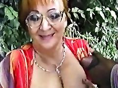 HUNGARIAN granny split up WITH A large dusky manmeat WITHIN tube porn video