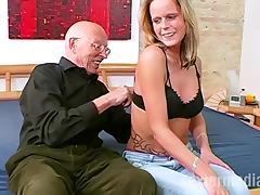 Opa Erwin steht auf Teenfotzen und Analsex tube porn video