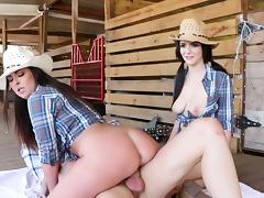 Country girls fucking in extreme XXX group scenes tube porn video