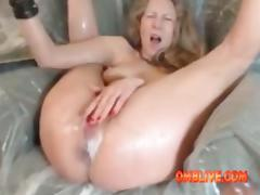 Hungry Curvy Milf Needs 2 Huge Toys To CREAM tube porn video