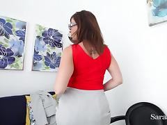 Busty Teacher Sara Jay want you to Earn Xtra Credit! tube porn video