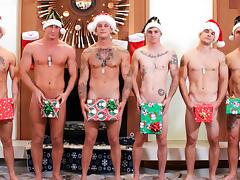 Christmas 2016 - 6-Man Orgy Military Porn Video - ActiveDuty tube porn video