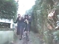 Mature lesbians fisting french style tube porn video