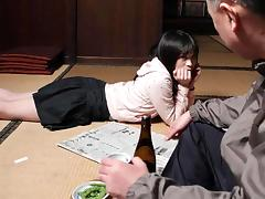 Mai Shimizu in Mai Shimizu had a sexual experience with her nasty step- father - AviDolz tube porn video