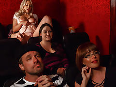 Krissy Lynn & Kylie Page & Alex D in Cinematic Climax - Brazzers tube porn video