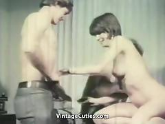New Employee in the Office for Fucking (1960s Vintage) tube porn video