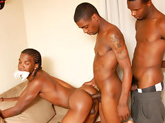 Johnny Boy & Sexxy Antwon & Trapp Boy in Thugporn Hazing #2 Scene 5 - Bromo tube porn video