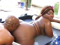 Very big fat black mom with a big black pussy wet hairy tube porn video