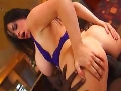 Incredible pornstar Daphne Rosen in hottest anal, interracial adult video tube porn video