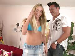 Amy Brooke seduces a handsome man for a nasty shag tube porn video