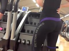 Super firm big buttocks in tights tube porn video
