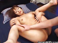 Akane Mochida Hot Japanese babe has hard tube porn video