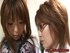 Hot Asian lesbians are teachers tube porn video