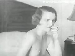 Lesbian Vintage 1931 with 2 bored Housewives tube porn video