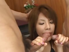 sexy asian anal coitus with lingerie tube porn video