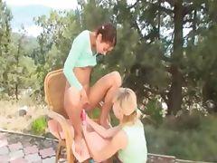 Natasha and Alice sharing vibrators tube porn video