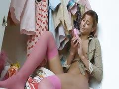 Natashas anal pleasure and masturbating tube porn video