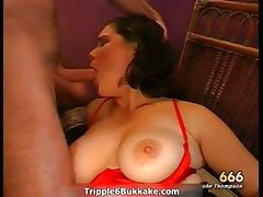 Busty brunette bitch with big boobs part1 tube porn video