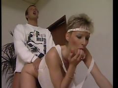 Sexy aerobics hairy cunts and natural tits tube porn video