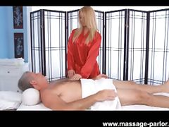 Hot blondie lexi kartel gives hand and blowjob tube porn video