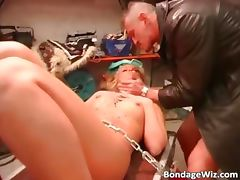 Tied up blonde slut with hot body part2 tube porn video
