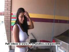 Alexa Loren Tender Busty Girl Washing Car tube porn video