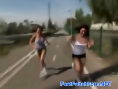 naughty teens appetite feet fucking tube porn video