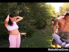 Hot Brunette Ride A Cock tube porn video