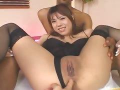 Asian chocolatehole dildoed hardly tube porn video