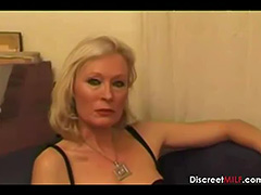 Casting French Blonde Mature Housewife tube porn video