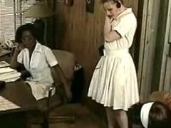 Lesbian Afro Nurse Interracial tube porn video