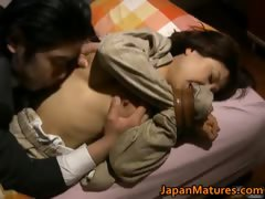 Japanese woman is kinky and mature tube porn video